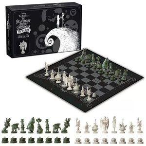 The Nightmare Before Christmas Collector Chess Set